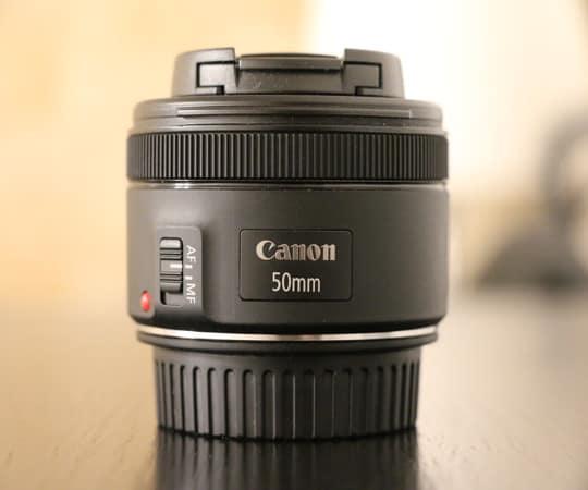 Obiektyw Canon 50 mm